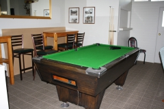pool table Guest Lounge