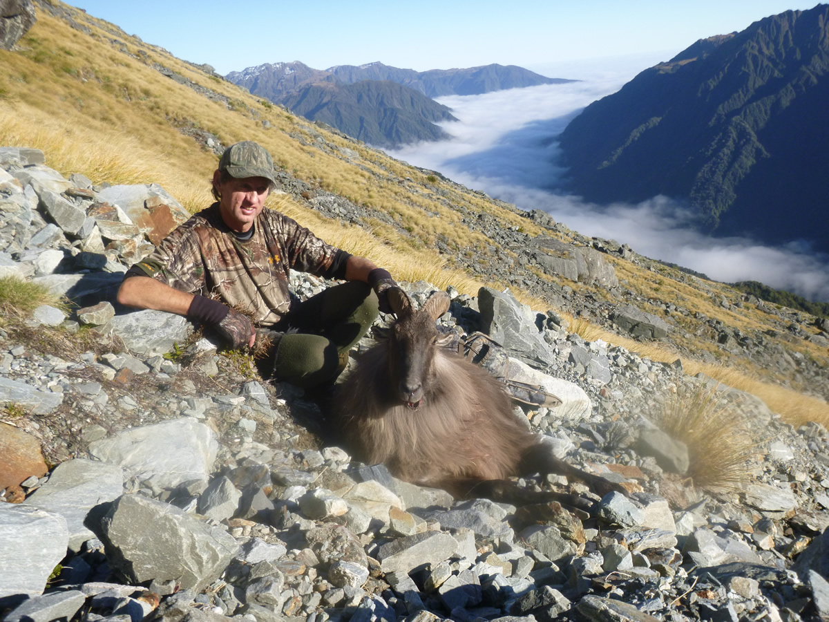 Kevin Hunting Tahr